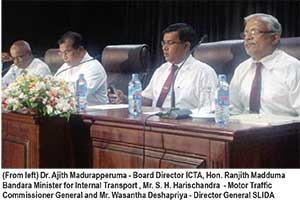 ICTA launches triple e-service for motor vehicles