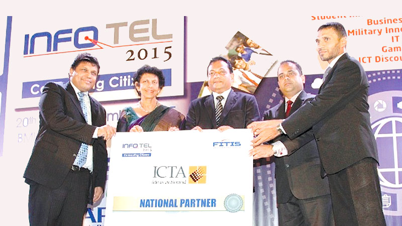 ICTA sponsors INFOTEL 2015 as National Partner