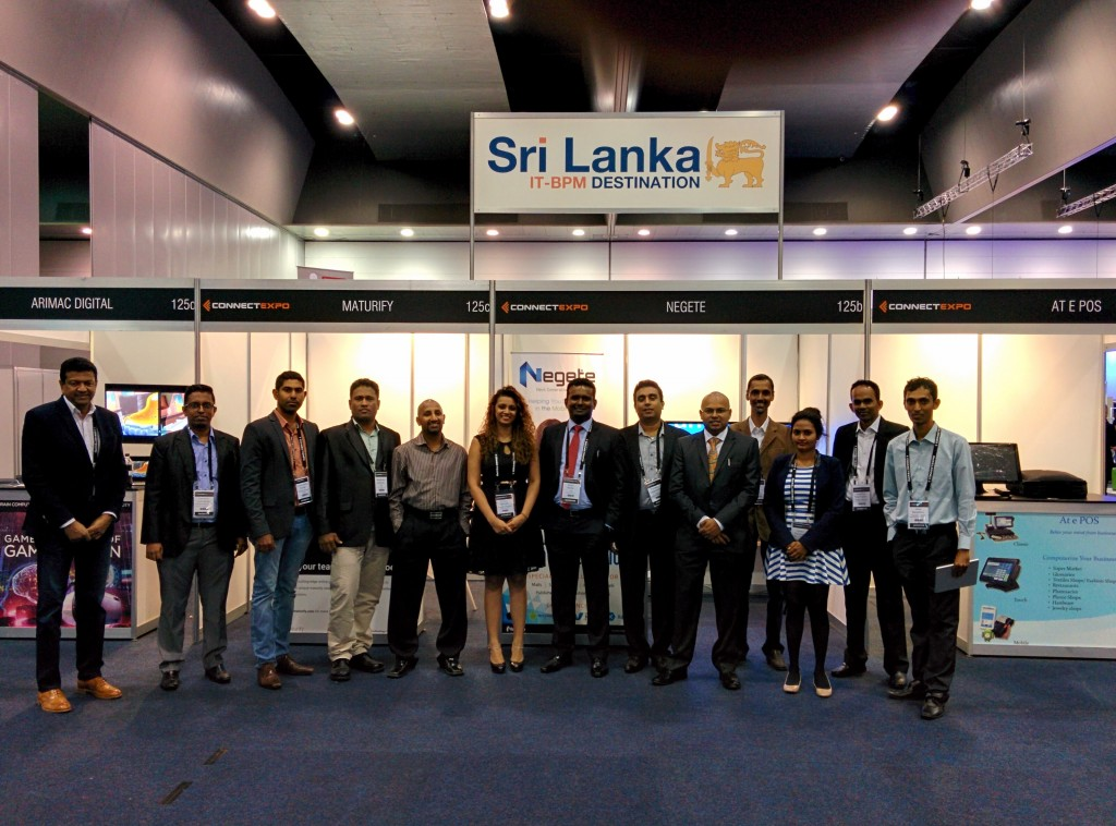 Sri Lankan Delegates @ Connect EXPO 2016