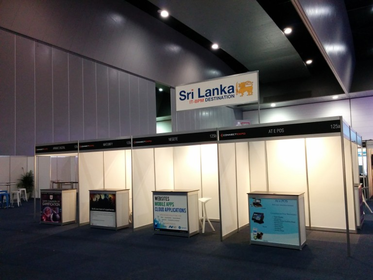 Sri Lankan Pavilion @ Connect EXPO 2016