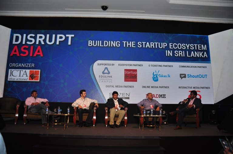 Disrupt Asia 2016 – Sri Lanka's First Ever Startup Conference and Showcase