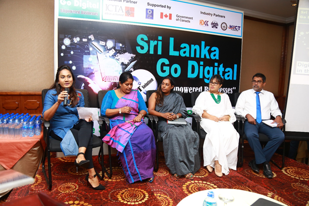 """Sri Lanka Go Digital Programme – """"Empowered Businesses"""" Digital Transformation of Businesses in the Southern Province 19th June 2018 @ Solis Hotel, Matara"""