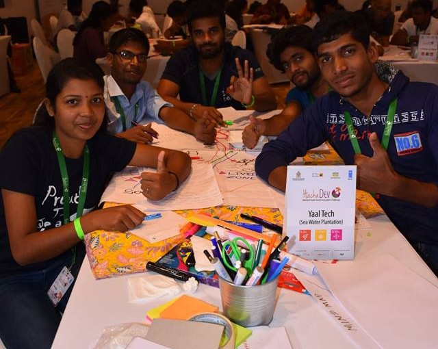 The second of the three Social Innovation Camps organized under the National Youth Social Innovation Challenge was held in Habarana