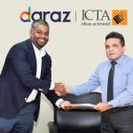 Daraz X ICTA signing LQ 2